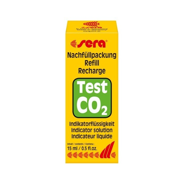Repuesto líquido test permanente CO2 (Sera)
