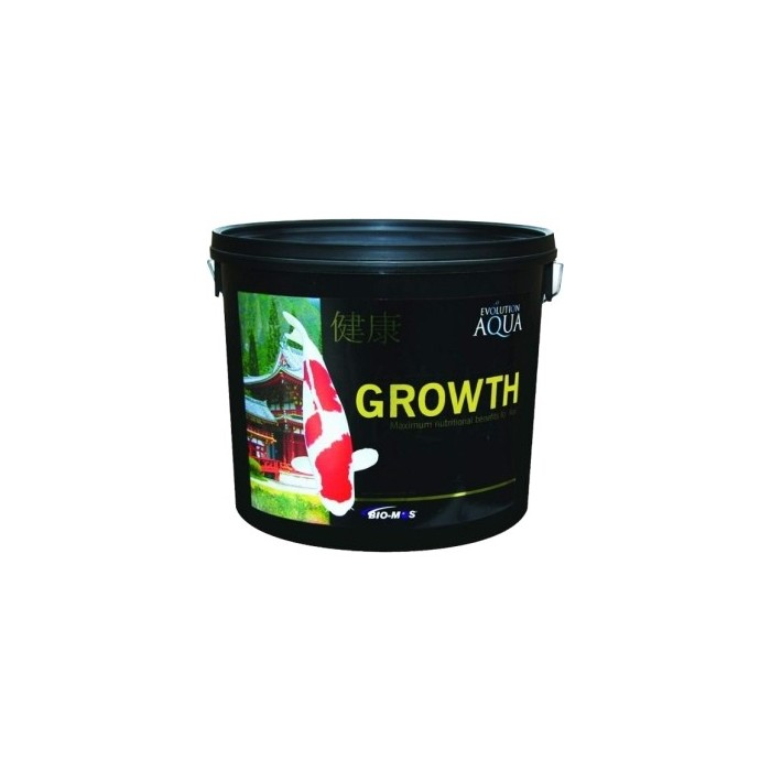 Growth 15 kilos / saco -3-4 mm/small (Evolution Aq