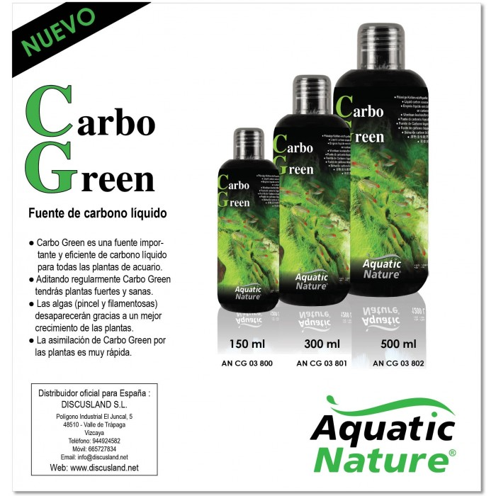 Carbo Green (Aquatic Nature) 300 ml