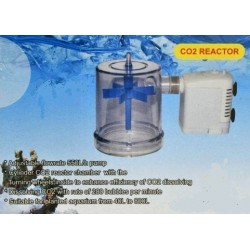 Reactor de CO2 con bomba