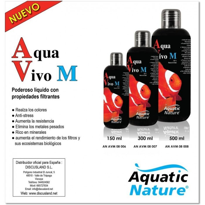 Aqua Vivo (Aquatic Nature) 300 ml para agua salada