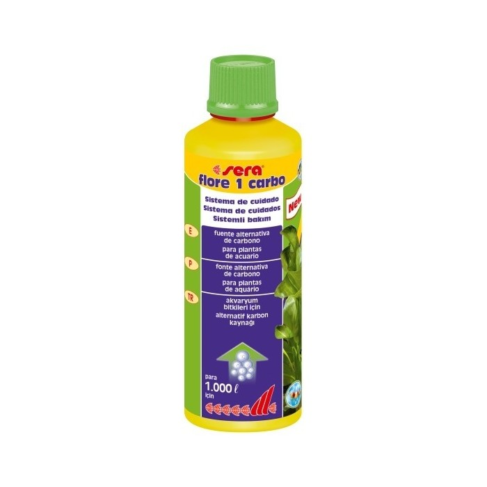 Sera flore 1 carbo (Sera) 250 ml