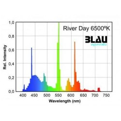 T5 River Day 6500ºK (Blau) 80 w 1449 mm
