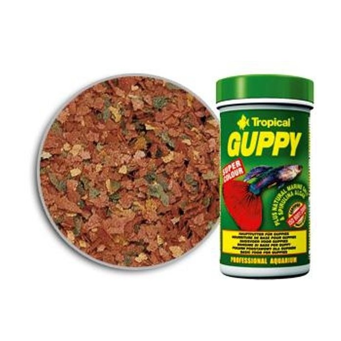 GUPPY (TROPICAL) 100 ml (20 gramos).