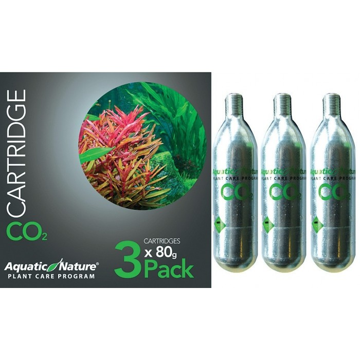 Bombona CO2 Pack de 3 x 95 gr. (Aquatic Nature)