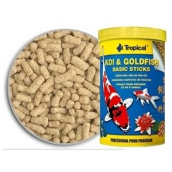 KOI & GOLDFISH BASIC STICKS (TROPICAL) 1000 ml (90 gr)