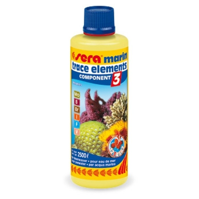 Component 3 trace elements Anionics (Sera) 250 ml