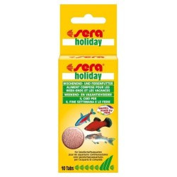 Holiday (Sera) 10 Tabletas (24 g)