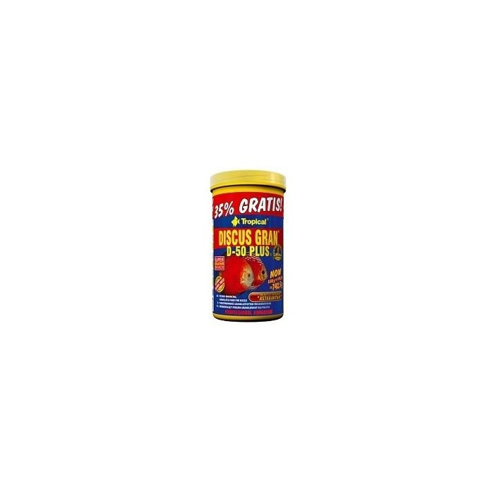 DISCUS GRAN D-50 PLUS (TROPICAL) 250 ml (110 grs.)
