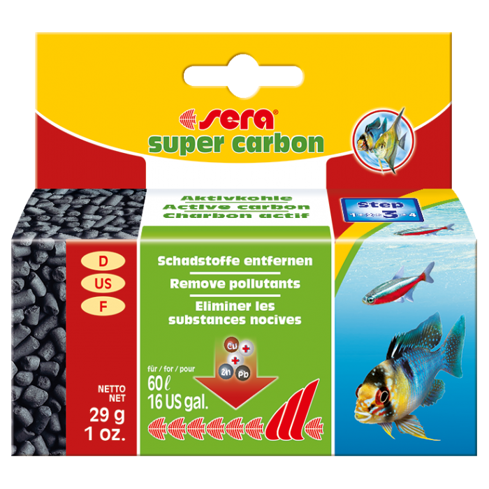 Super Carbón 29 gr. (Sera)