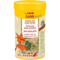 Goldy Nature 250 ml / 60 grs. Sera